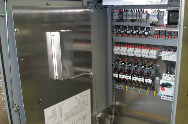 Spectrum SureStart Control Cabinet On The Job