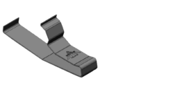 SnapTite Rail Clip Part No. RRSC-FJ-SP