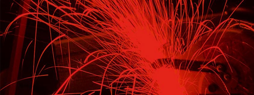 forging sparks